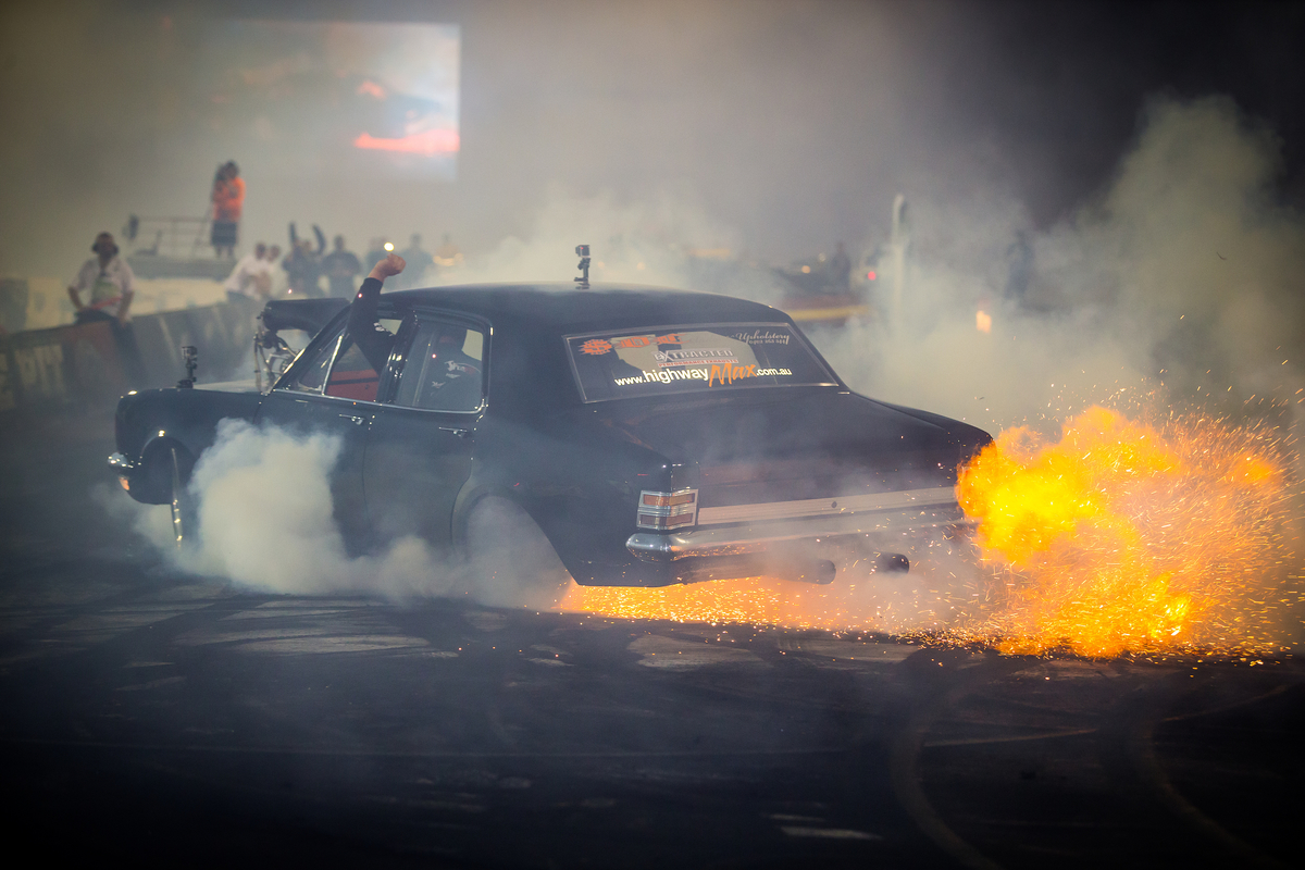 Good Friday Burnout King